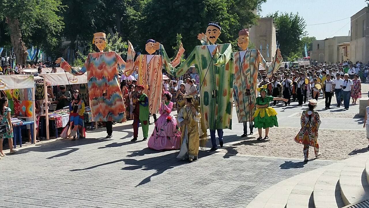 Silk and Spice Festival is held in my home city Bukhara