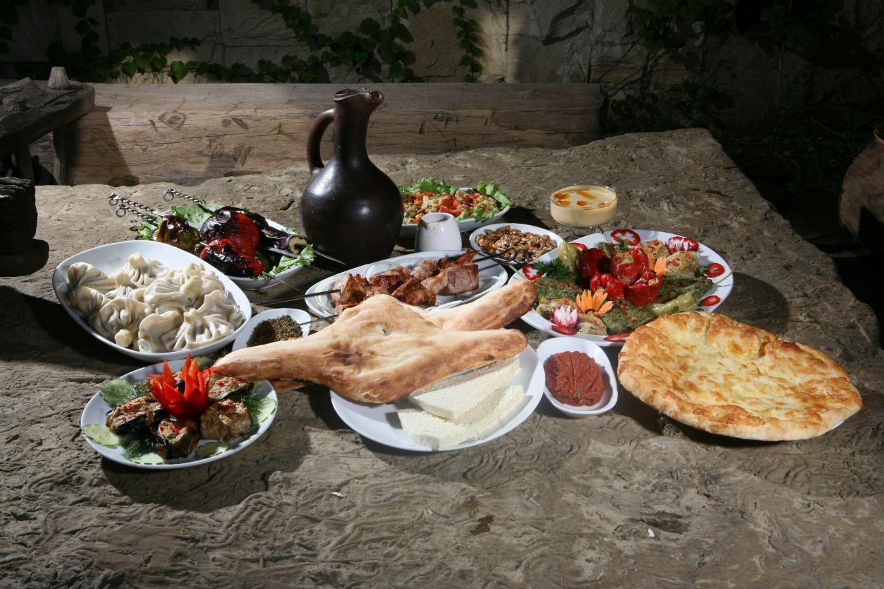 Dining in the Caucasus