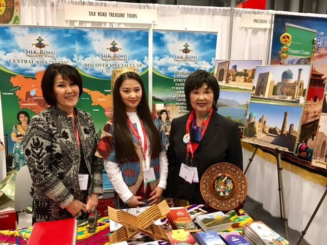 The New York Times Travel Show – so many visitors, so little time, so much fun!