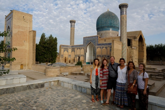 Cultural and adventure trip of Strasburger family in Central Asia